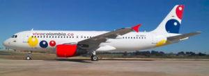 vivacolombia avion airbus 320
