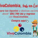 TIQUETES VIVACOLOMBIA EN VIAJES EXITO