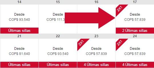 2x1 en vivacolombia