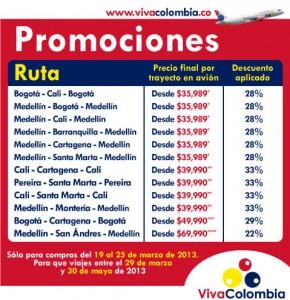 promociones viva colombia