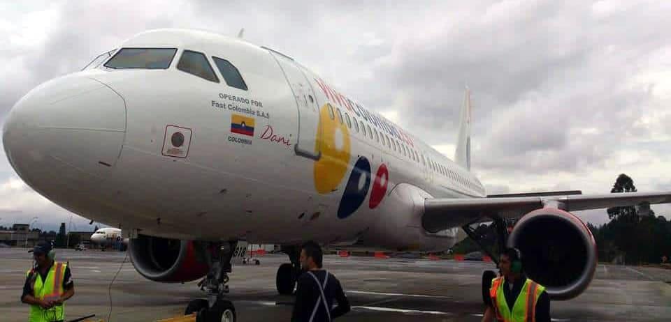 viva air aviones a320 vivacolombia