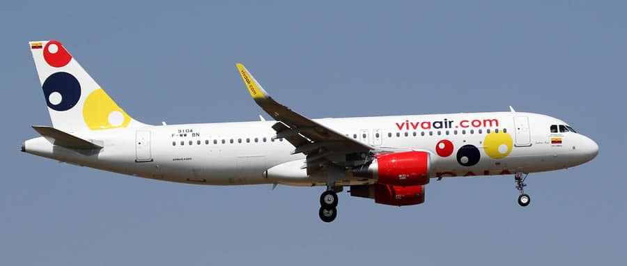 viva air a320 ceo vivacolombia