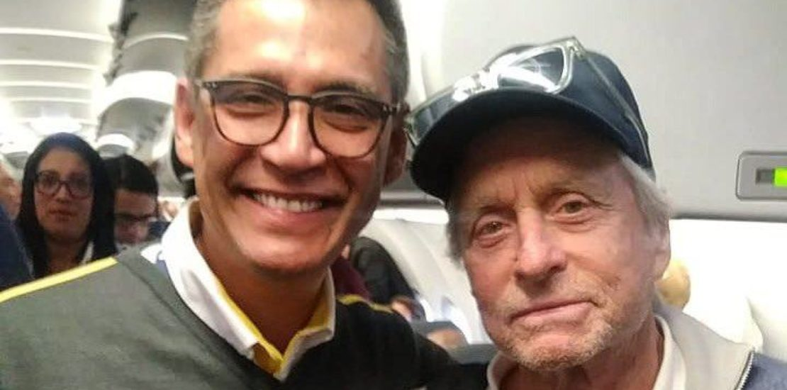 michael douglas viva air