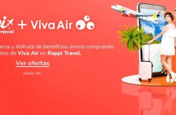 viva air rappi travel colombia