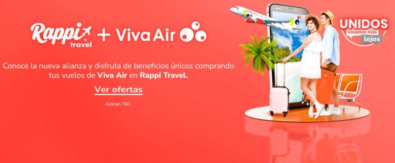 viva air rappi travel colombia