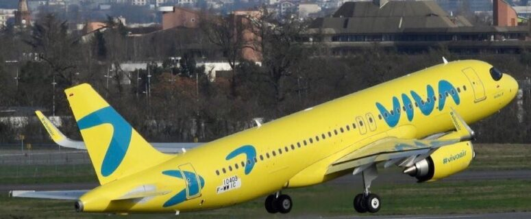 viva air tolouse a320 colombia